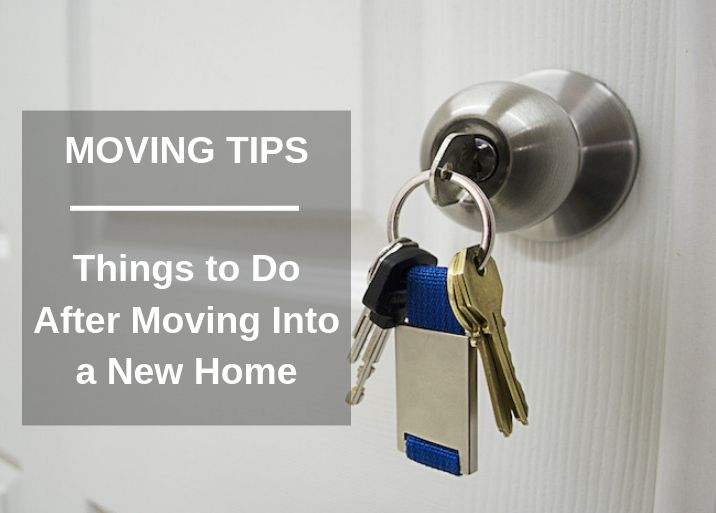 Things To Do After Moving Into A New Home South Florida
